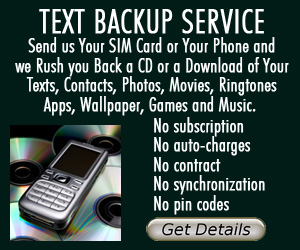Sound FeelingsText Backup Service