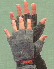 neoprene and fleece gloves help with  freezing hands