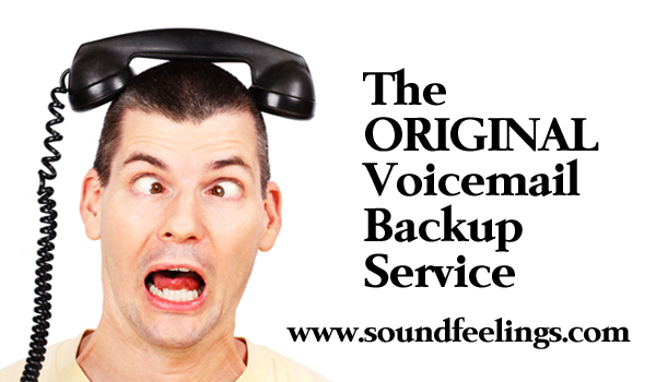 The ORIGINAL Voicemail Backup Service Since 2001